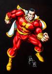 Shazam! Classic Captain Marvel (colors)