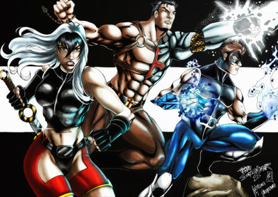 Guardioes do Amanha - pinup (colors) by FantasticMystery