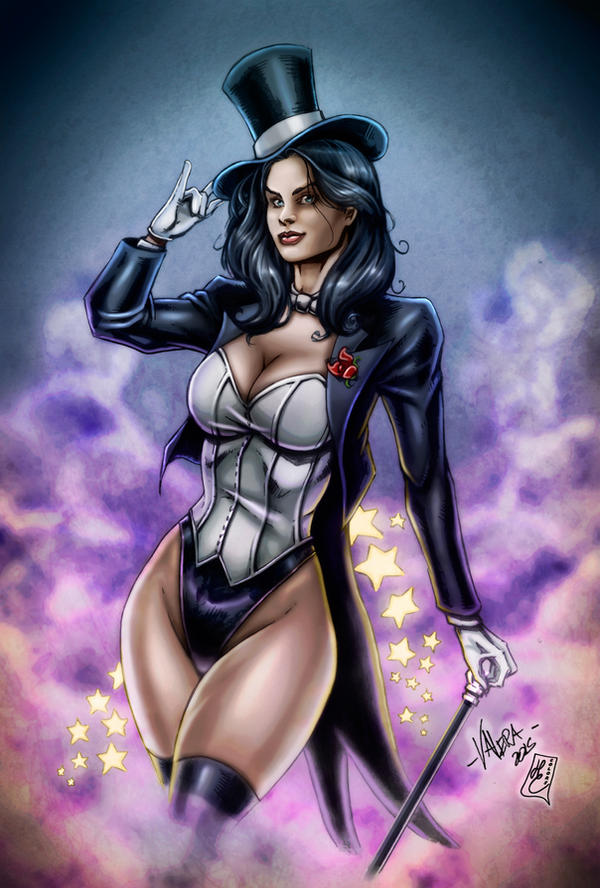 Zatana Zatara (colors) by FantasticMystery