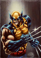 The Wolverine (colors) by FantasticMystery
