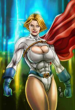Powergirl (colors)