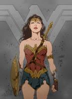 BvS Wonder Woman (W.I.P.) by FantasticMystery