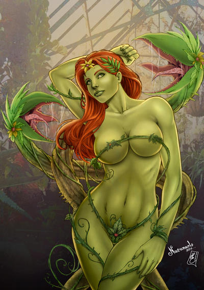 Poison Ivy (colors) by FantasticMystery