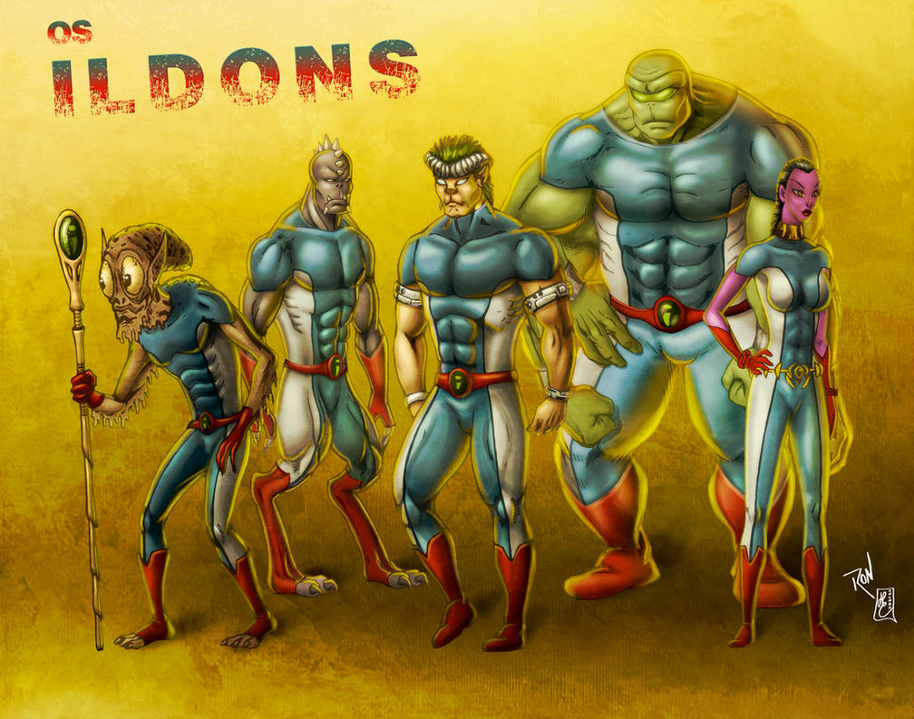 ILDONS (colors) by FantasticMystery
