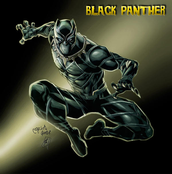 Black Panther (colors)