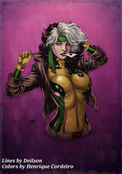 90's ROGUE (colors) by FantasticMystery