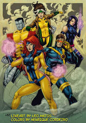 90's X-MEN (colors) by FantasticMystery