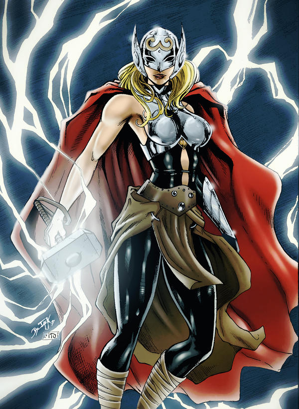 Jane Foster by FantasticMystery