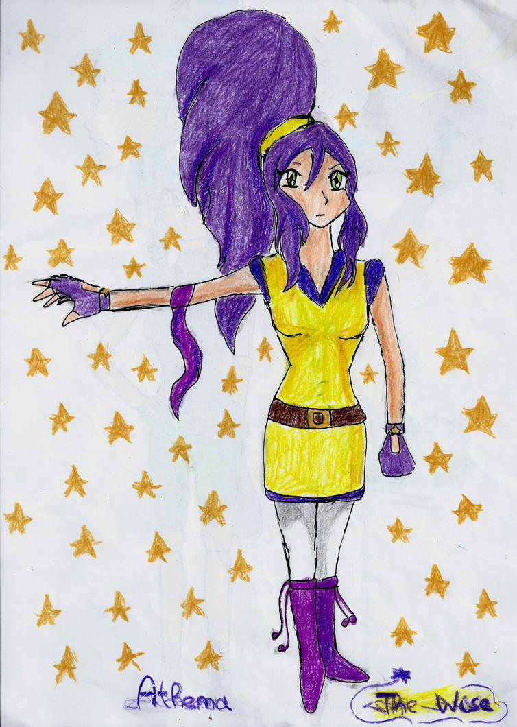 Athena ( Oc for Beyblade) by Grifessa