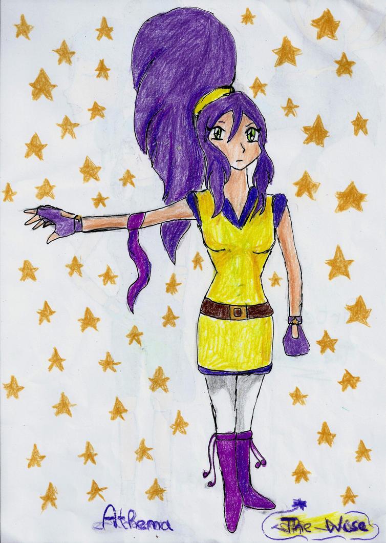 Athena ( Oc for Beyblade) by Grifessa