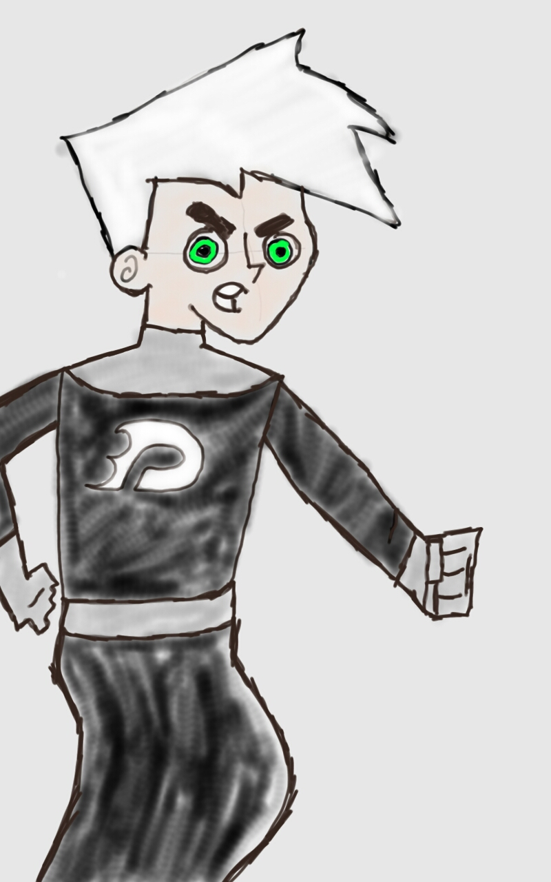 Danny Phantom Ghost Form #1 by meredithphantom on DeviantArt