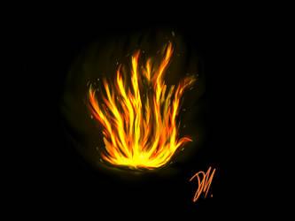 Fire by TheAngelDemonWolfy