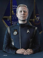 Star Trek Discovery - Lt Cmdr Paul Stamets by Jemppu