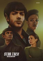 Star Trek Discovery - The Graysons by Jemppu