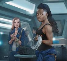 Star Trek Discovery - Repairs