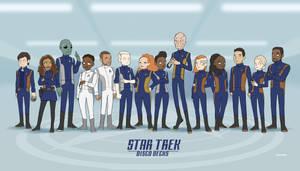 Disco Decks - Star Trek Discovery crew