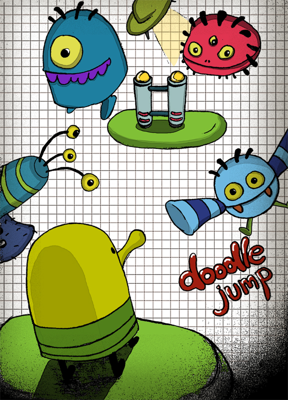Doodle Jump by shawnishere