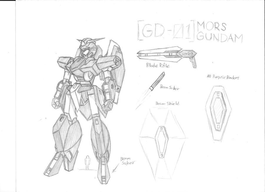 GD-01 Mors Gundam by Linkinpark30101