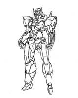 CrimsonReaver's Gundam by Linkinpark30101