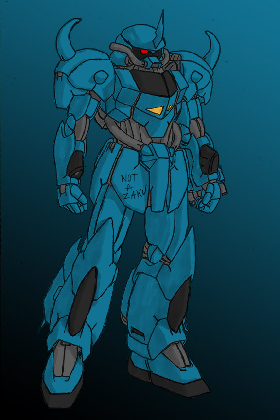 Luna Genus Style Gouf by Linkinpark30101