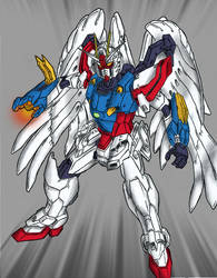 Birthday Request Heaven Gundam by Linkinpark30101