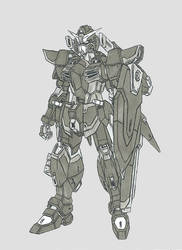 Krounus Commission 1: Judgement Gundam by Linkinpark30101