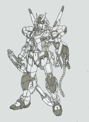 Krounus Commission 2: Galahad Gundam by Linkinpark30101