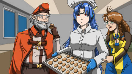 The KOS-MOS Cookie Caper