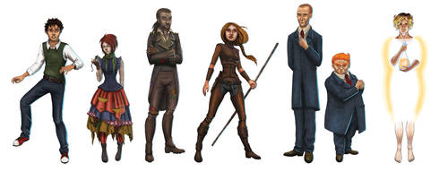 The Characters of Neverwhere by Segundus