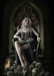 Queen of pain by GentianaArts