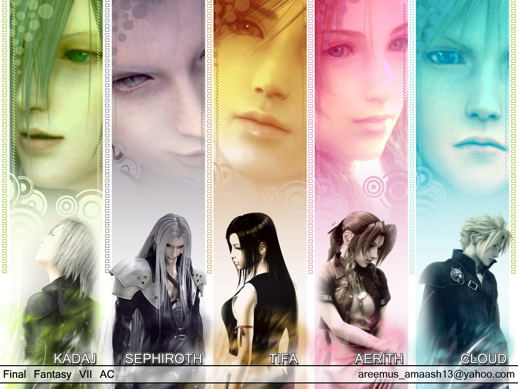 FF VII AC Wallpaper By Areemus