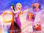 Rapunzel Walle