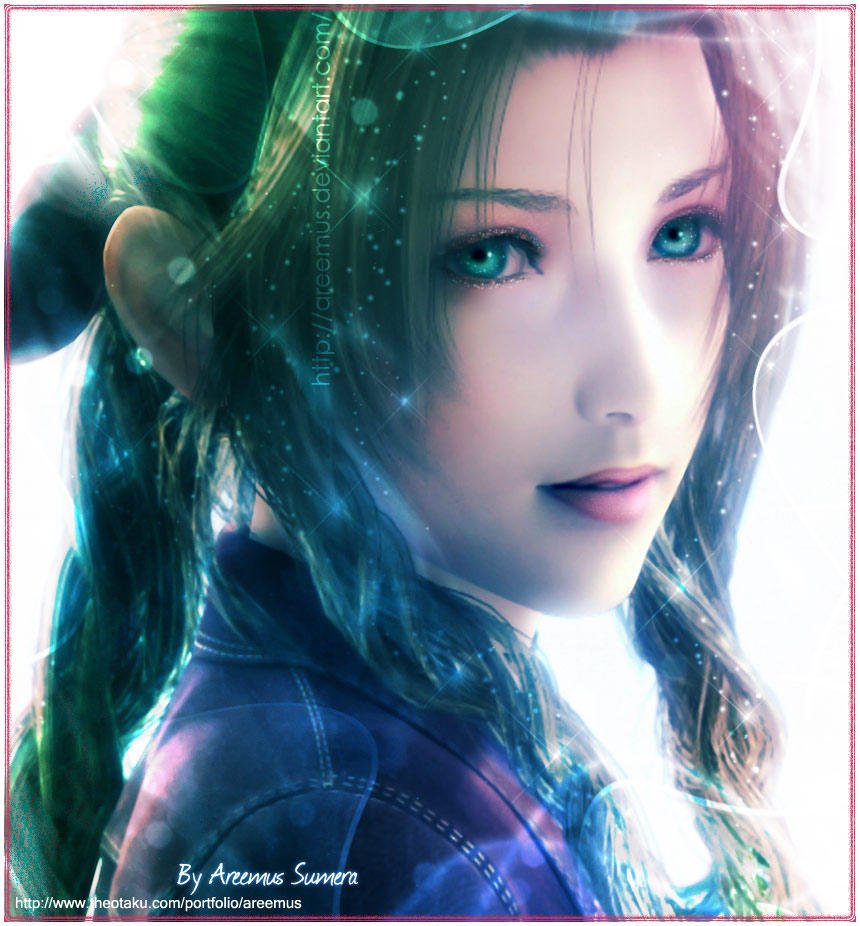 Aerith With alot of Colours
