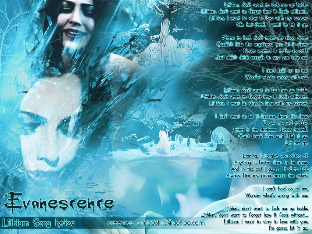 Lithium Song Walle Evanescence by areemus on DeviantArt