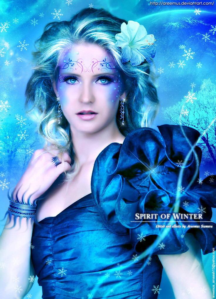 Spirit of Winter by areemus