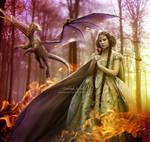 Princess and the dragon