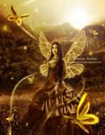 Sun Kissed- Butterfly fairy