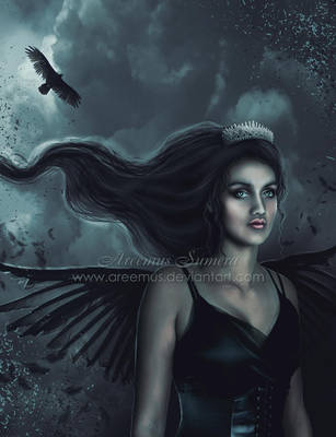 Queen of crows by areemus