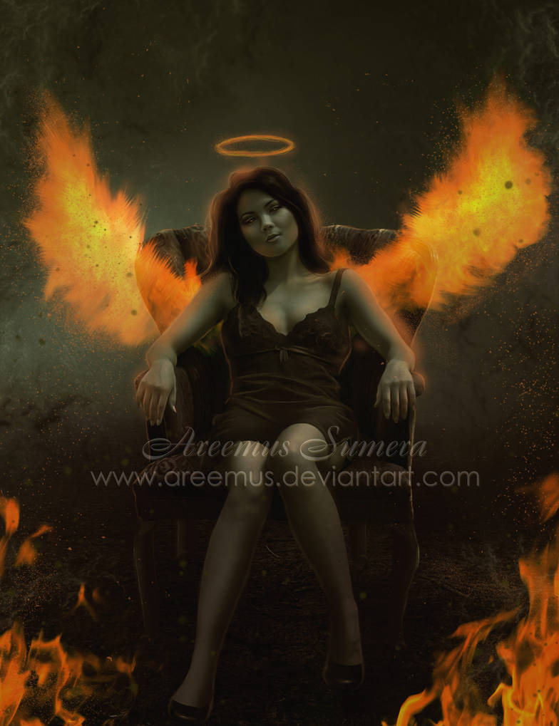 Angel Of Fire by areemus