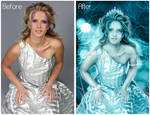 Snow Queen-Before And After