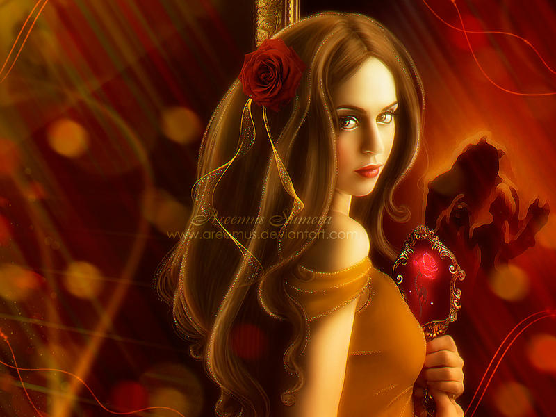 BelleBeauty And The Beast Wallpaper By Areemus
