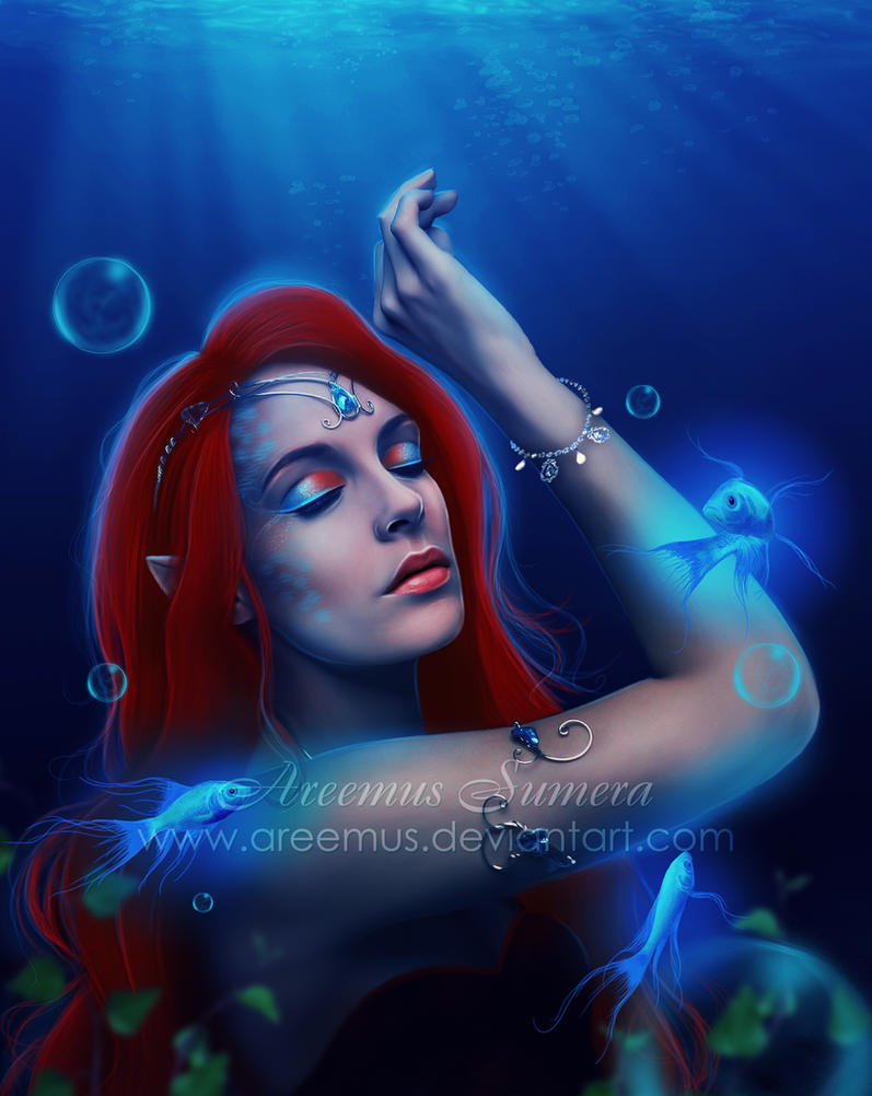 Sleeping with the fishes by areemus on deviantart for Sleeping with the fishes
