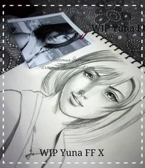 WIP Yuna from FF X