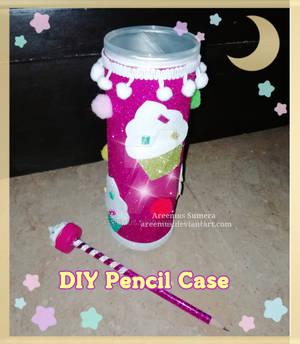 DIY cupcake theme Pencil case