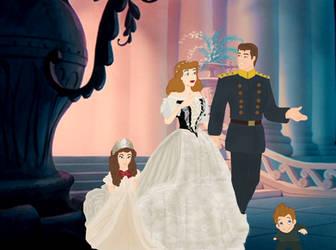It's a fairytale come true by cenicyenta
