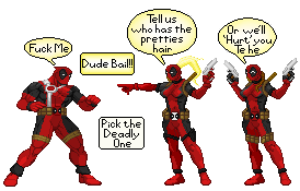 Deadpool Ladies? by UnbalanceOne