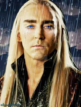 King Thranduil tears