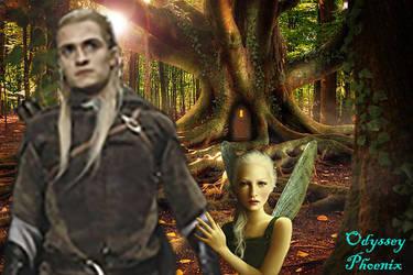 Legolas don't go!