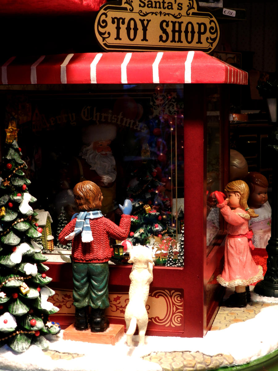 Santa's Toy Shop by Daenel