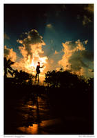 Sunset Juggler by thefonz148